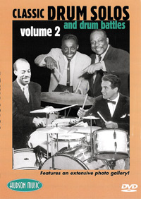 Classic Drum Solos and Drum Battles - Volume Two