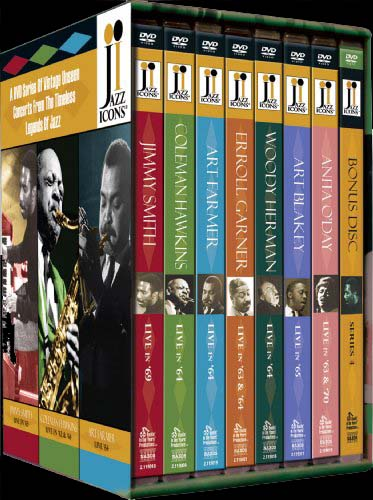 Jazz Icons Series 4 - Boxed Set